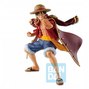 PREORDER - Bandai Ichibansho One Piece Legends Over Time Monkey D. Luffy Figure (red)