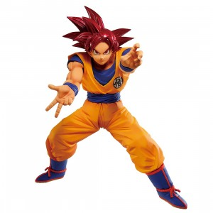 PREORDER - Banpresto Dragon Ball Super Maximatic The Son Goku V Figure (orange)