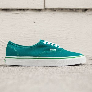 Vans Men Authentic - Pop Check (green / kelly green)