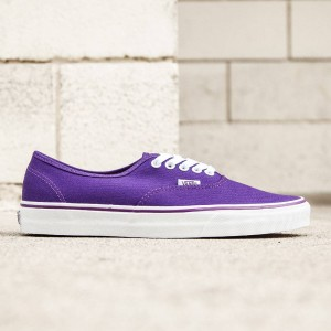 Vans Men Authentic - Pop Check (purple / imperial)