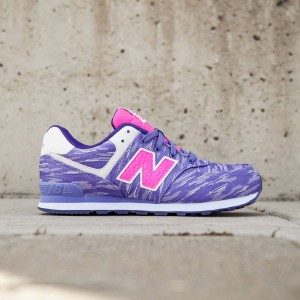 New Balance Big Kids 574 - KL574SQG (purple)