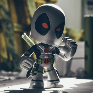 BAIT WonderCon Exclusive x Funko Marvel Deadpool Super Deluxe 9 Inch Vinyl Figure - X-Force (gray / red)