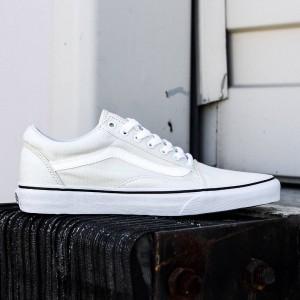 Vans Men Old Skool - Canvas (white / classic)