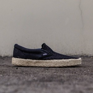 Vans Women Classic Slip-On Espadrille - Mesh (black)