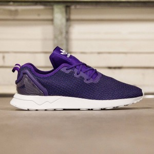 Adidas Men ZX Flux ADV Asymmetrical (purple / collegiate purple / core black / white)