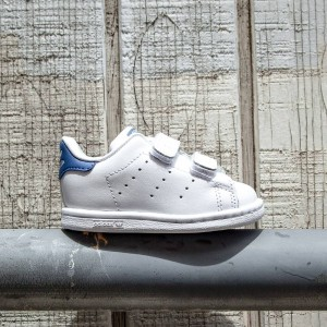 Adidas Toddlers Stan Smith CF (white / eqt blue)
