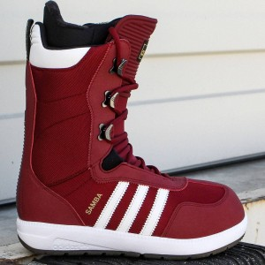 Adidas Men Samba Snowboots (burgundy / white / black)