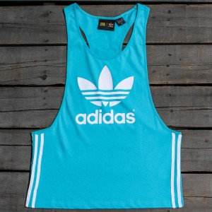 Adidas x Pharrell Williams Women Kauwela Basketball Tank Top (green / shock green)