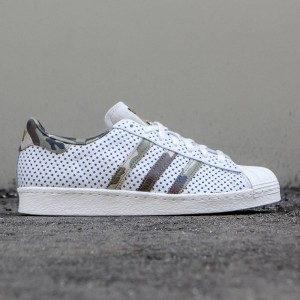 Adidas x Complex Men Superstar 80's (white / camo)