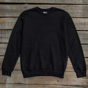 BAIT Men Premium Crew Neck Sweater - Made in Los Angeles (black)