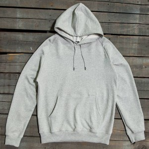 BAIT Men Premium Hoody - Made In Los Angeles (gray / heather)