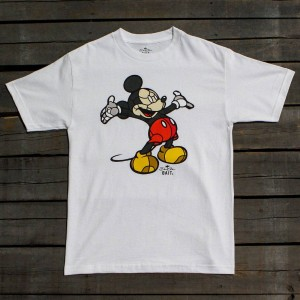 BAIT x David Flores Men Mickey Tee (white)