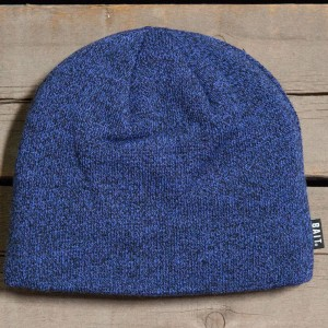 BAIT Basic Beanie (blue / heather blue / black)
