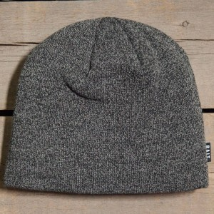 BAIT Basic Beanie (heather black / grey)