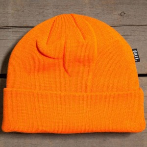 BAIT Folded Beanie (orange / safety orange)
