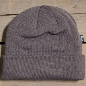 BAIT Folded Beanie (gray / excalibur grey)