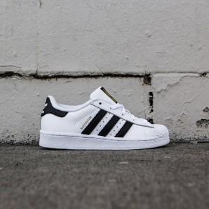 Adidas Little Kids Superstar Foundation C (white / core black)