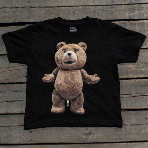 BAIT x Ted Big Ted Youth Tee (black)