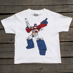 BAIT x Transformers Optimus Art Youth Tee (white)