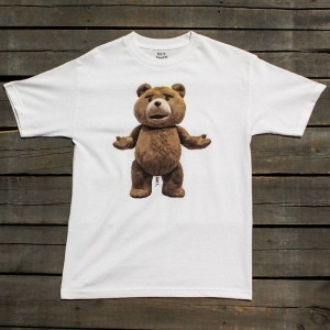BAIT x Ted Men Big Ted Tee (white)