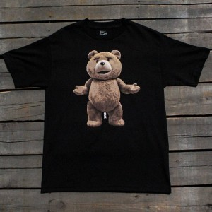 BAIT x Ted Men Big Ted Tee (black)