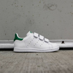 Adidas Toddlers Stan Smith (white / ftwwht / green)