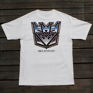 BAIT x Transformers Men Retro Decepticons Tee (white)
