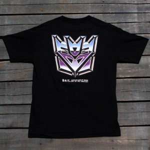 BAIT x Transformers Men Retro Decepticons Tee (black)