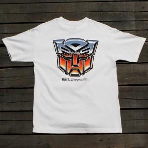 BAIT x Transformers Men Retro Autobots Tee (white)