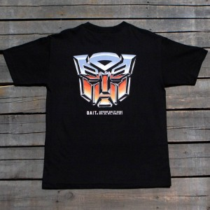 BAIT x Transformers Men Retro Autobots Tee (black)
