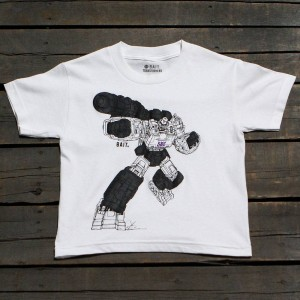 BAIT x Transformers Megatron Art Youth Tee (white)
