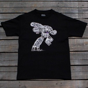 BAIT x Transformers Men Megatron Art Tee (black)