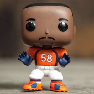 Funko POP Sports NFL Wave 3 Denver Broncos - Von Miller (orange)