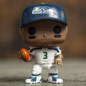 Funko POP NFL: Wave 3 - Seattle Seahawks Russell Wilson (white)