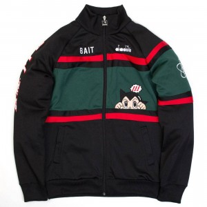 BAIT x Astro Boy x Diadora Men Astro Boy Jacket (black)
