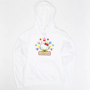 BAIT x Sanrio x Pac-Man Women Power Up Hoody (white)