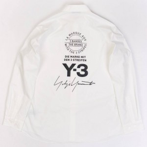 Adidas Y-3 Men Street Shirt (white / black)