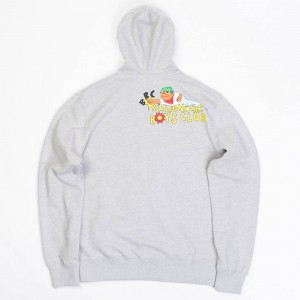 Billionaire Boys Club x Hebru Brantley Men Knockout Zip Hoody (gray)