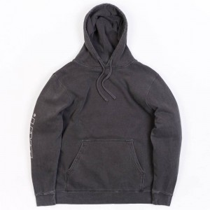BAIT Men Pigment Dyed Hoody (black)