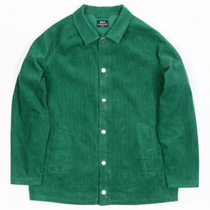 BAIT Unisex Corduroy Coaches Jacket (green / kelly)