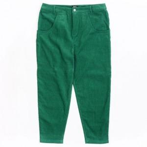 BAIT Unisex Corduroy Tailored Pants (green / kelly)