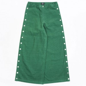 BAIT Women Corduroy Tearaway Pants (green / kelly)