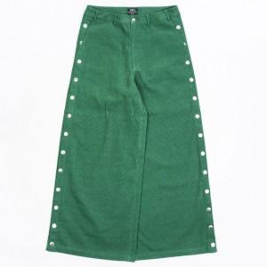 BAIT Women Corduroy Tearaway Pants (green / kelly)