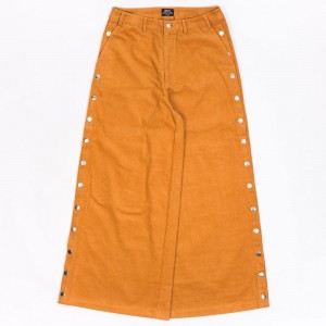 BAIT Women Corduroy Tearaway Pants (brown / camel)
