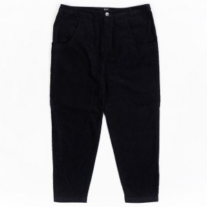 BAIT Unisex Corduroy Tailored Pants (black)