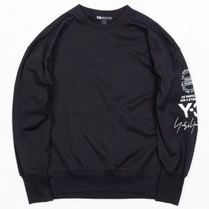 Adidas Y-3 Men Street Crew Sweater (black)