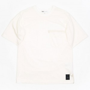 Adidas Y-3 Men Raw Short Sleeve Tee (undyed)