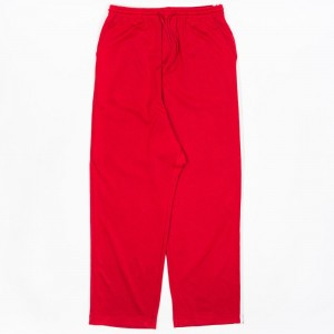 Adidas Y-3 Men 3-Stripes Wide Pants (red / chili pepper / undyed)