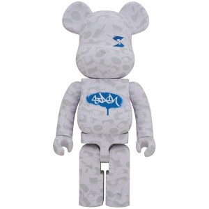 PREORDER - Medicom Stash 1000% Bearbrick Figure (white)