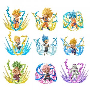 Banpresto Dragon Ball Super World Collectable Burst Complete 9 Figures Set (multi)